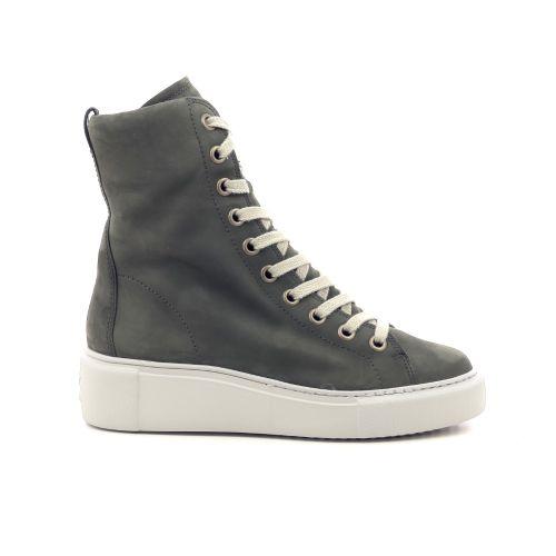 Paul green damesschoenen boots kaki 218798