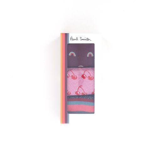 Paul smith accessoires kousen rose 217344