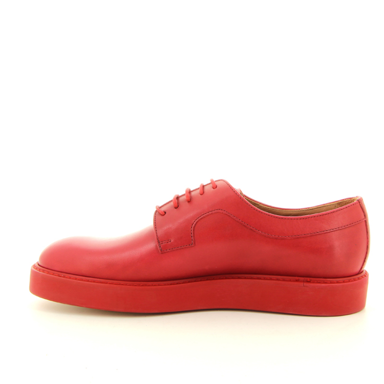 Paul smith damesschoenen veterschoen d.rood 98051