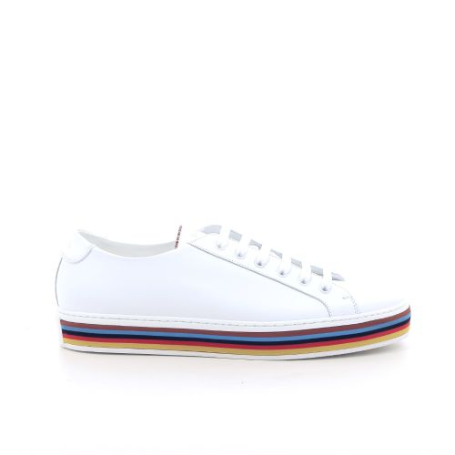 Paul smith herenschoenen veterschoen wit 202414