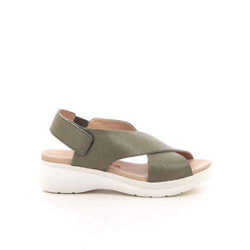 Pedro miralles damesschoenen sandaal kaki 193754