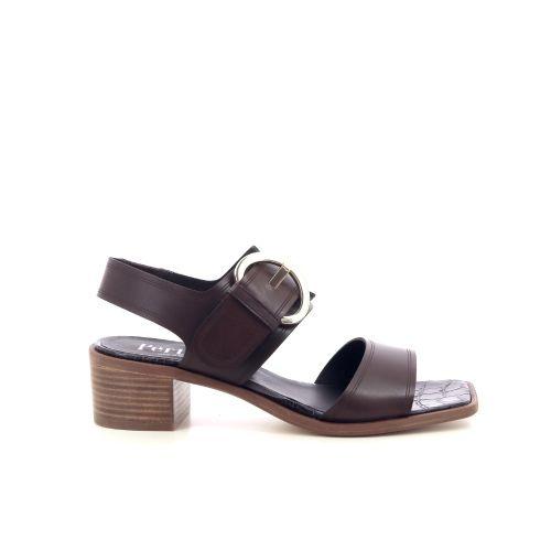 Pertini  sandaal d.bruin 214807