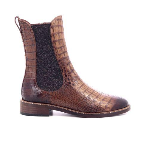 Pertini damesschoenen boots cognac 209901
