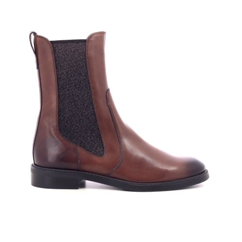 Pertini damesschoenen boots cognac 209905