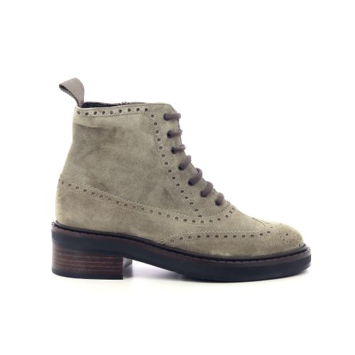 Pertini damesschoenen boots kaki 218875