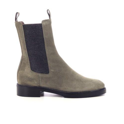 Pertini damesschoenen boots kaki 218879