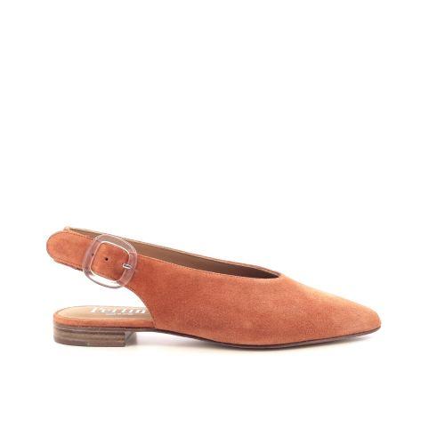 Pertini damesschoenen sandaal oranje 205480