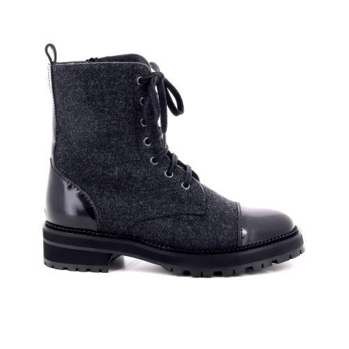 Pertini damesschoenen boots zwart 199157