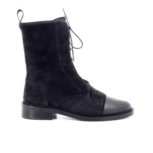 Pertini damesschoenen boots zwart 209902