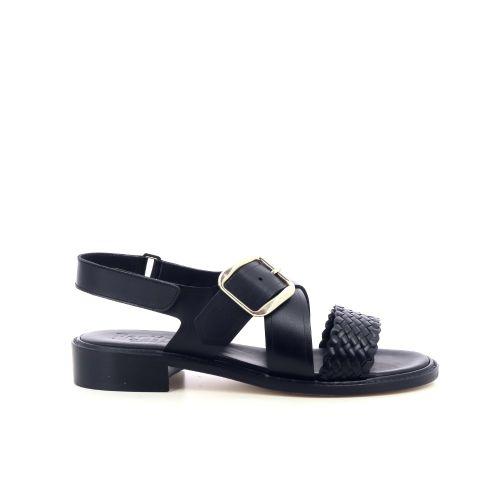 Pertini damesschoenen sandaal zwart 214775