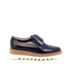 Pertini damesschoenen veterschoen blauw 172050