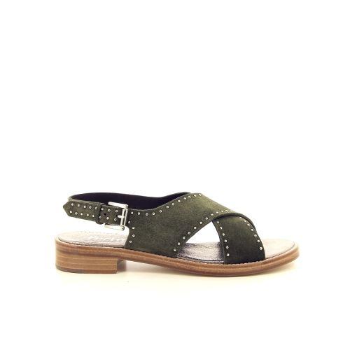 Pertini koppelverkoop sandaal kaki 195388