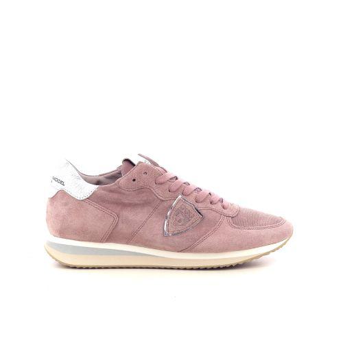 Philippe model damesschoenen veterschoen beige 216272