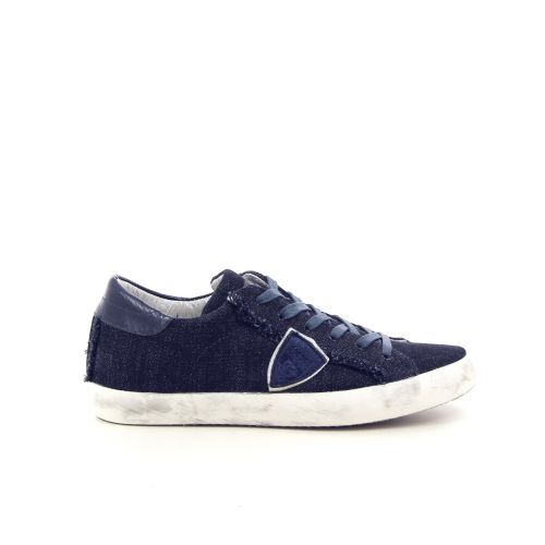 Philippe model damesschoenen veterschoen donkerblauw 181247
