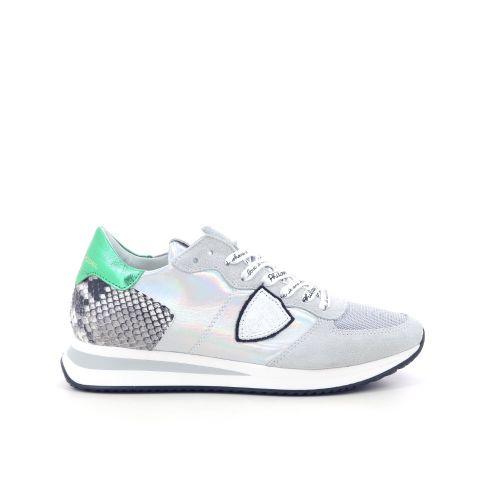 Philippe model damesschoenen sneaker lichtgrijs 201872