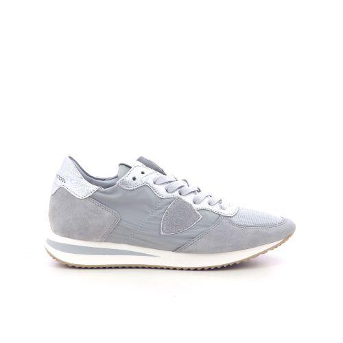 Philippe model damesschoenen veterschoen taupe 216278