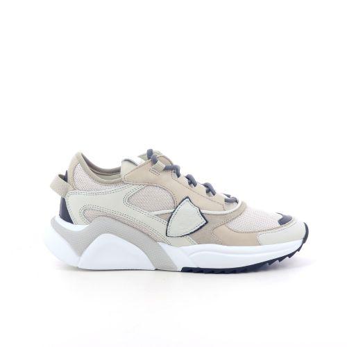 Philippe model damesschoenen veterschoen wit 208366
