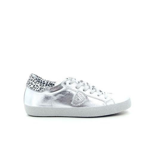 Philippe model damesschoenen sneaker zilver 168705