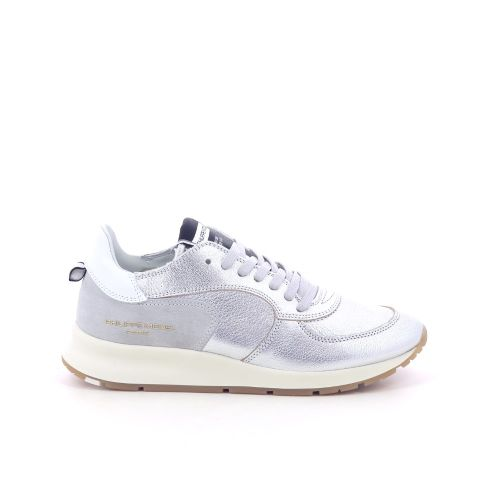 Philippe model damesschoenen sneaker zilver 198575