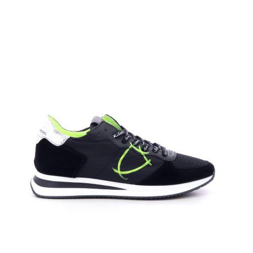 Philippe model damesschoenen sneaker zwart 201874