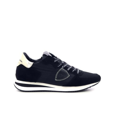 Philippe model damesschoenen sneaker zwart 207740