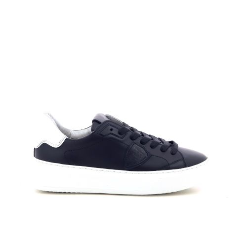 Philippe model damesschoenen veterschoen zwart 216945