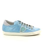 Philippe model damesschoenen sneaker blauw 98004
