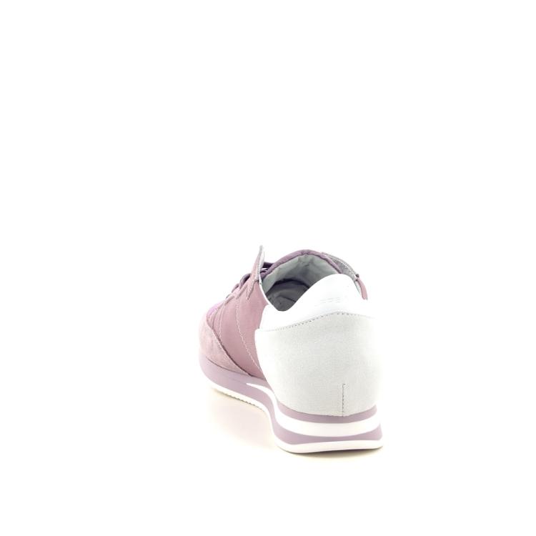 Philippe model damesschoenen sneaker lila 191728