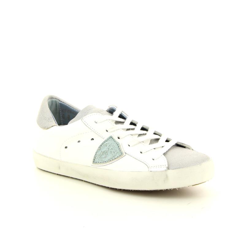 Philippe model damesschoenen sneaker wit 98004