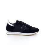 Philippe model damesschoenen sneaker zwart 198068