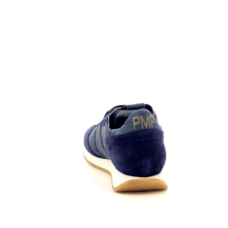 Philippe model herenschoenen sneaker blauw 191766