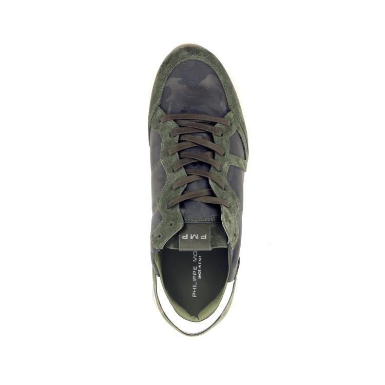 Philippe model herenschoenen sneaker kaki 191763