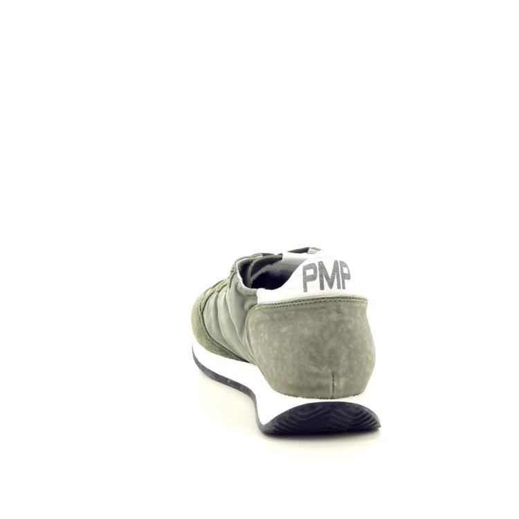 Philippe model herenschoenen sneaker l.kaki 191765