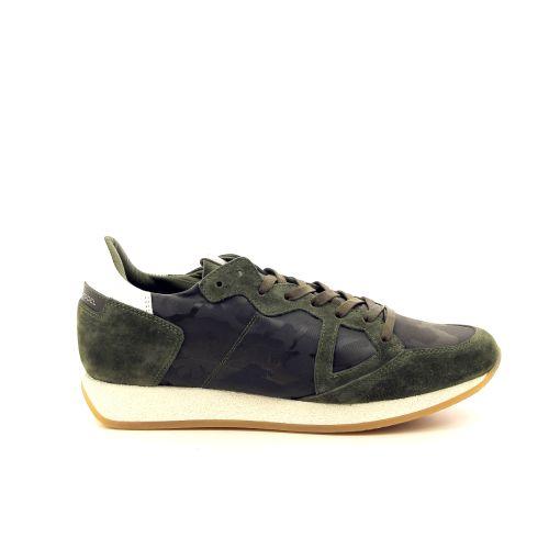 Philippe model solden sneaker kaki 191763
