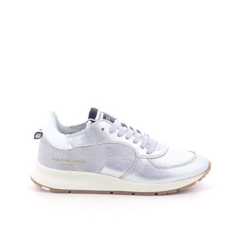 Philippe model  sneaker zilver 198575