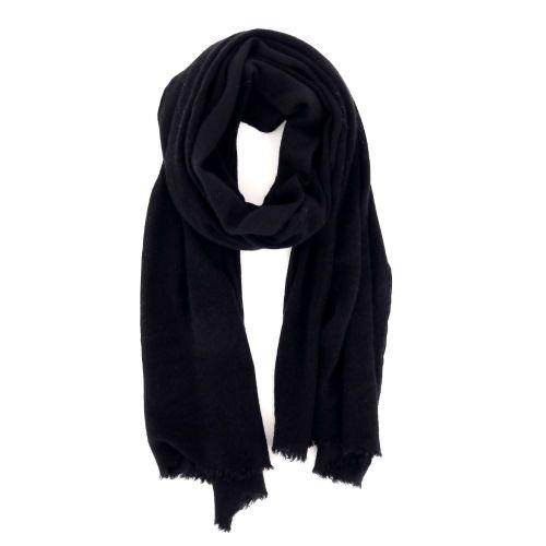 Pin 1876 accessoires sjaals zwart 207576