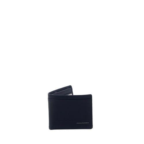 Piquadro accessoires portefeuille zwart 215464