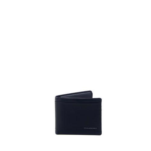 Piquadro accessoires portefeuille zwart 215465