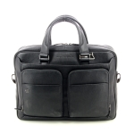 Piquadro tassen aktetas zwart 195657