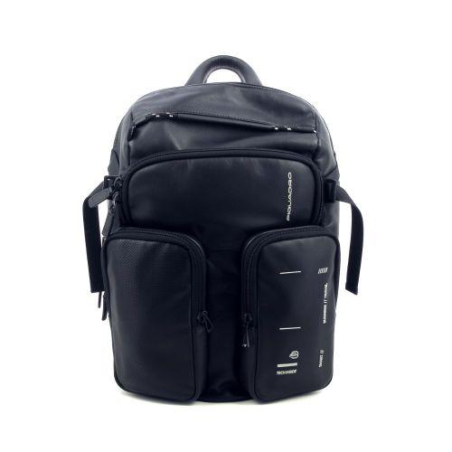 Piquadro tassen aktetas zwart 206340