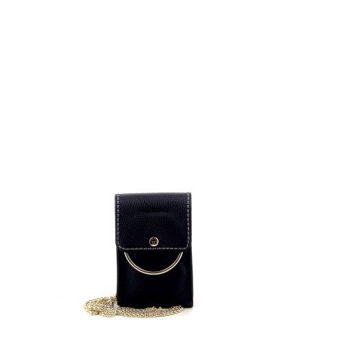Plinio visona tassen handtas zwart 215285