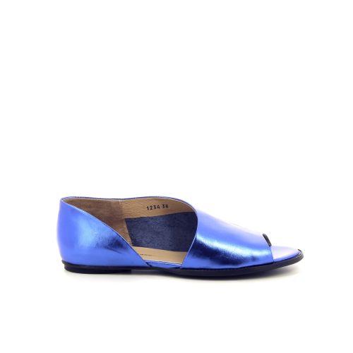 Poesie veneziane damesschoenen sandaal kobaltblauw 194997