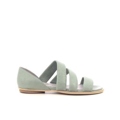 Poesie veneziane damesschoenen sandaal l.kaki 214841