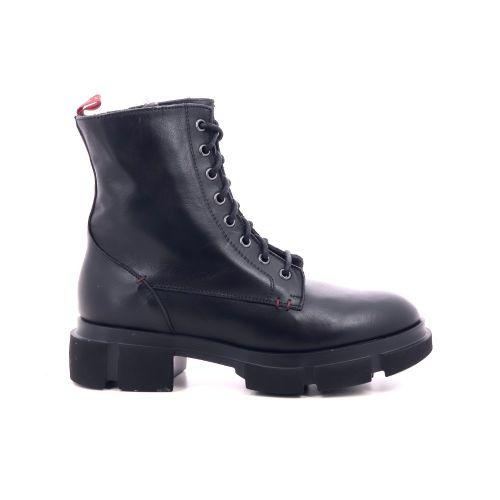 Poesie veneziane damesschoenen boots zwart 209758