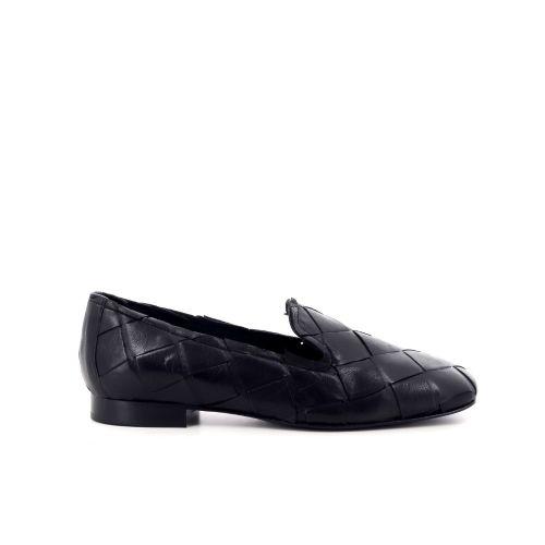 Poesie veneziane damesschoenen mocassin zwart 214831