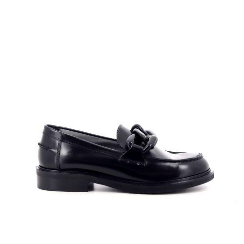 Poesie veneziane damesschoenen mocassin zwart 219052