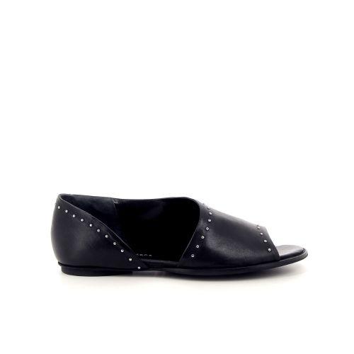 Poesie veneziane koppelverkoop sandaal zwart 183209