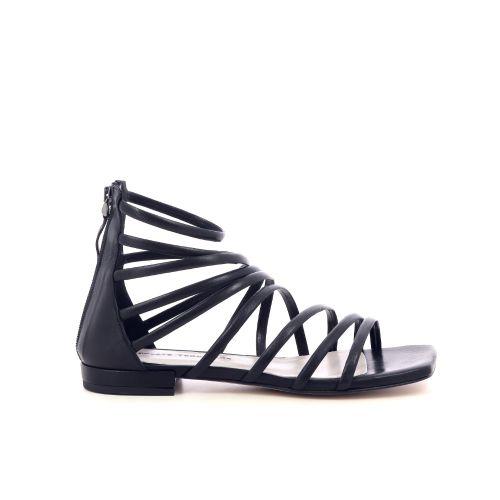 Poesie veneziane  sandaal zwart 214838