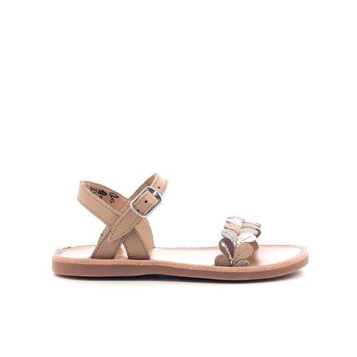 Pom d'api  sandaal goud 203665