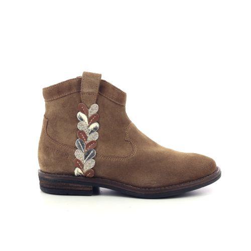 Pom d'api kinderschoenen boots naturel 199684